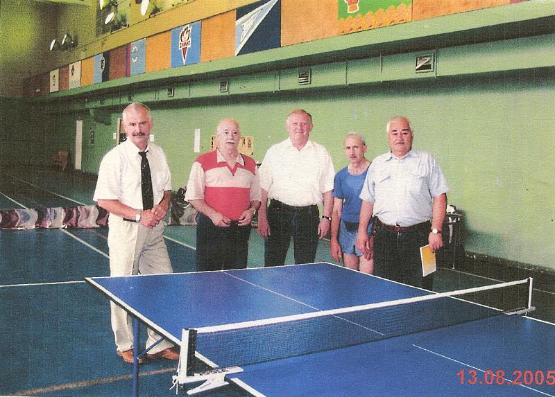 настольный теннис, Фрязино